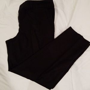 Banana Republic- Hampton fit black dress pants